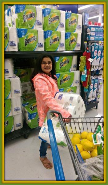 Bounty at Walmart