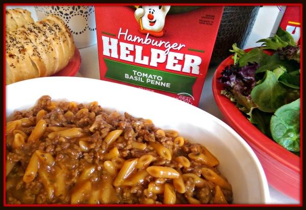 Hamburger Helper Dinner is Served