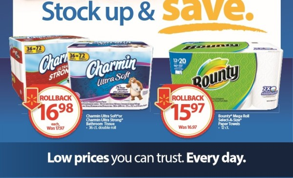 Stock Up and Save Charmin Bounty