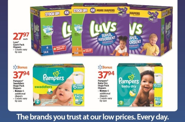 Stock Up and Save Luvs and Pampers