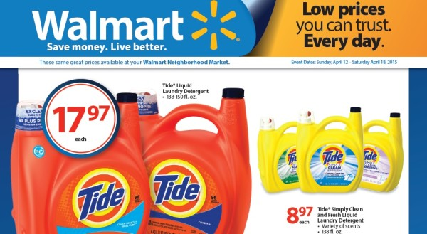 Stock Up and Save Tide