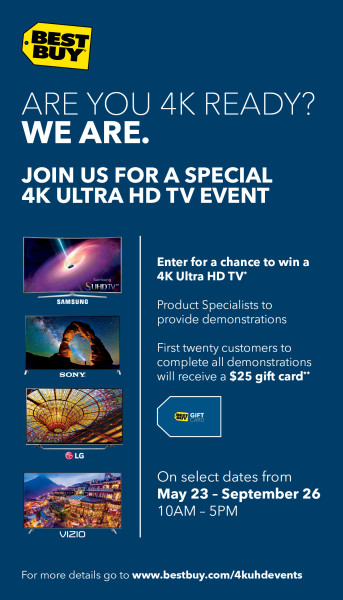 Best Buy 4K Ultra HD TV #UHDatBestBuy Flyer_01