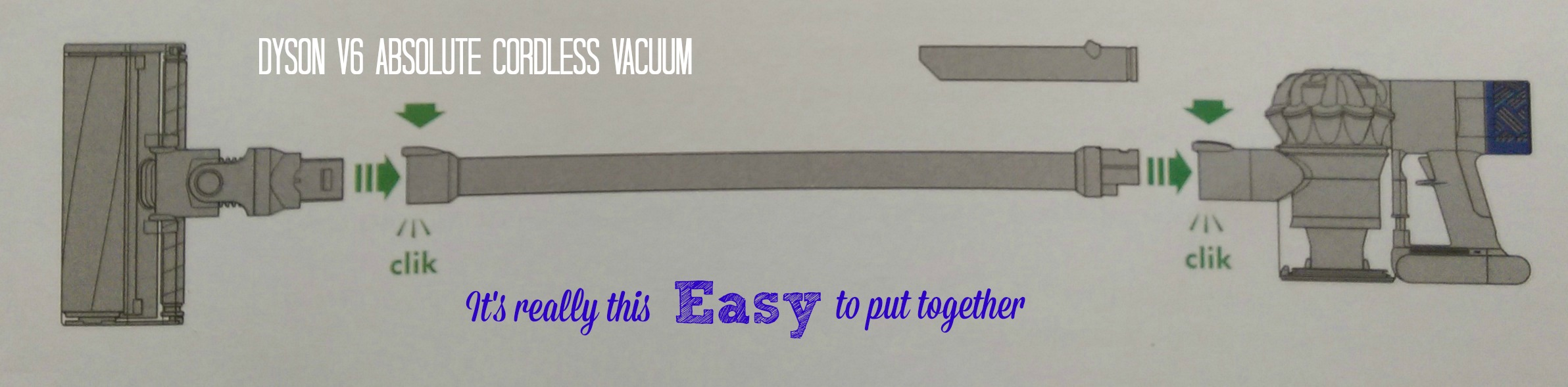 dyson v6 absolute cordless vacuum at best buy assembly 2