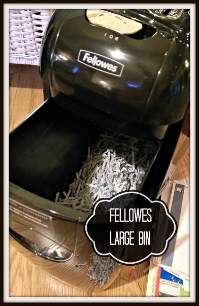 #IC #GiftFellowes #Sponsored Paper Shredder Fellowes Large Bin