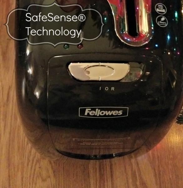 #IC #GiftFellowes #Sponsored Paper Shredder Fellowes Safe Sense Technology