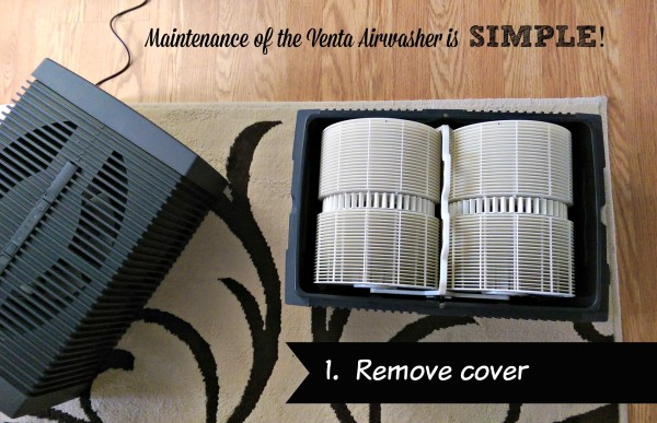 Venta Airwasher Maintenance Step 1
