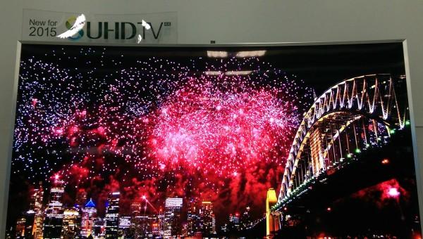 Samsung SUHDTV Fireworks