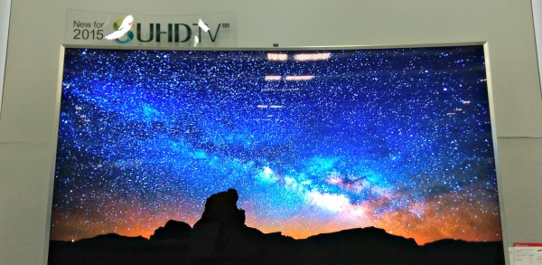 Samsung SUHDTV Starry Night