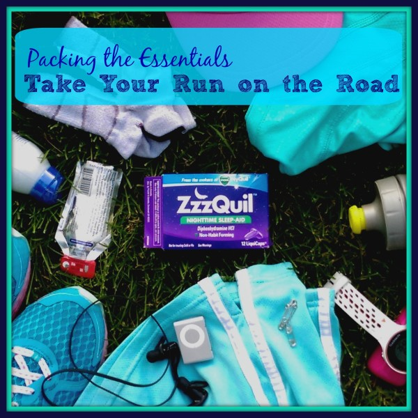 ZzzQuil Travel Essentials Take Your Run On The Road #sponsored