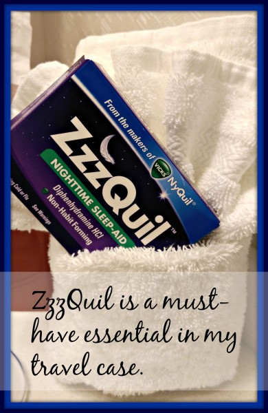 ZzzQuil Travel Must Have #sponsored