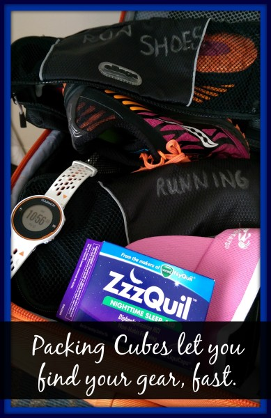 ZzzQuil Travel Packing Cubes #sponsored