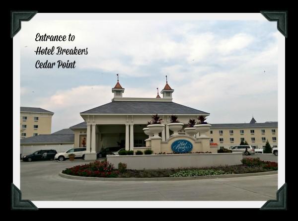 Entrance to Hotel Breakers Cedar Point
