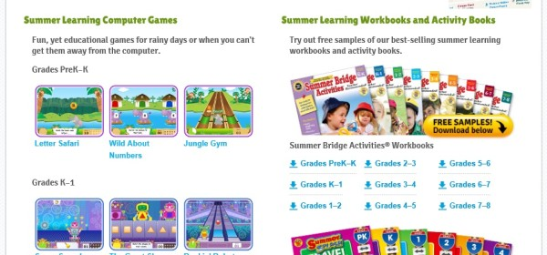 #IC #SmarterSummer Carson Dellosa Computer Games and Worksheets