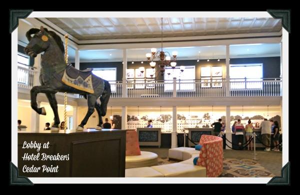 Lobby Hotel Breakers Cedar Point