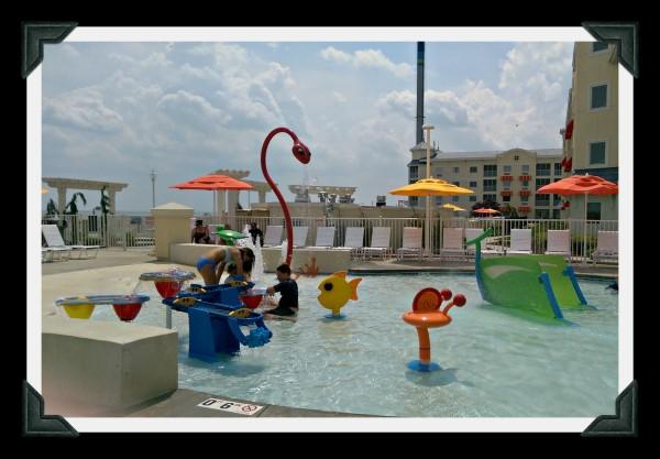 Outdoor Kids Pool Hotel Breakers Cedar Point