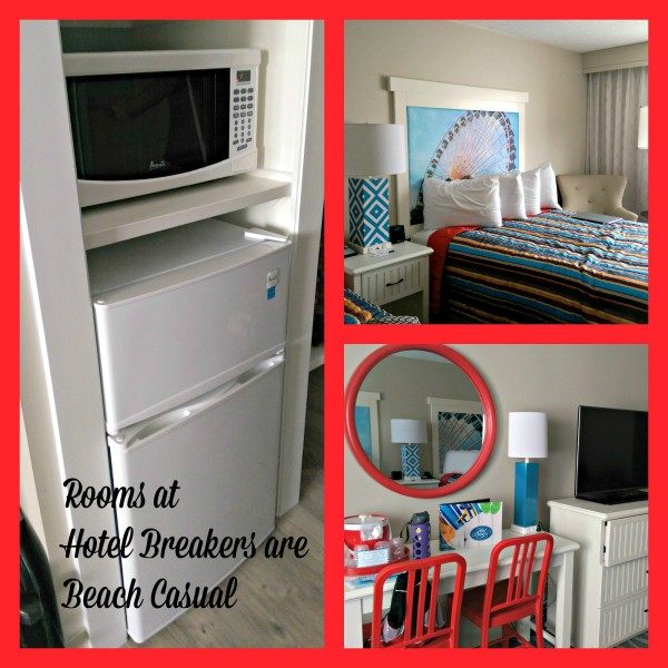 Room Collage Hotel Breakers Cedar Point