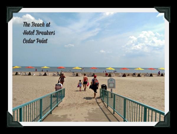 The Beach at Hotel Breakers Cedar Point