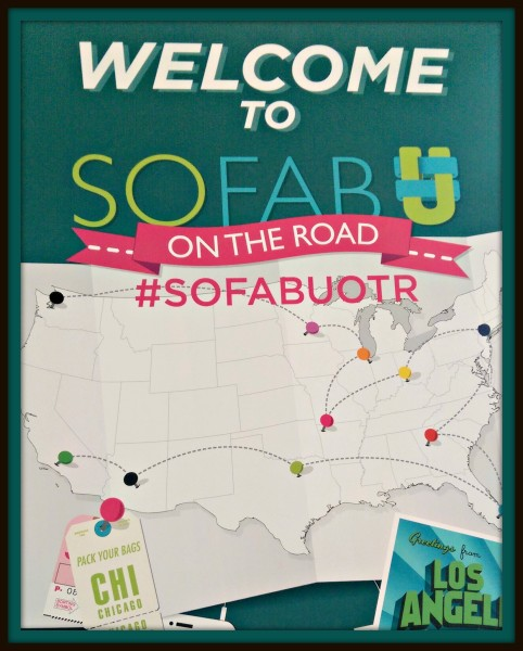 Welcome Sign Conference #SoFabUOTR