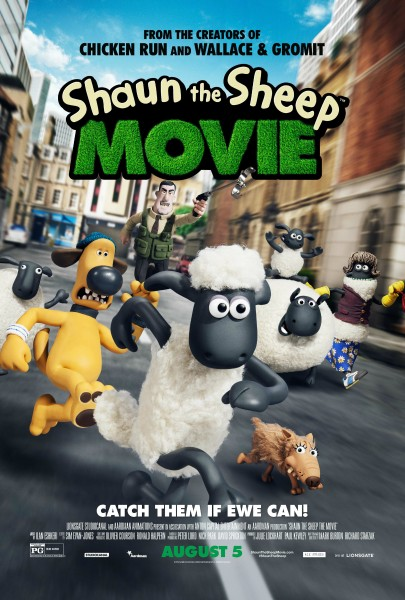 Shaun the Sheep Movie Poster #ShauntheSheep