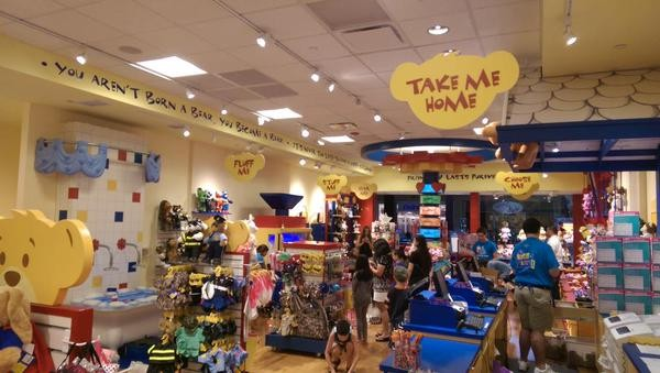 build a bear store