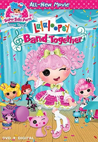 lalaloopsy dvd band together