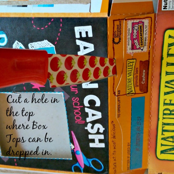 Cut Hole in Top for Box Tops