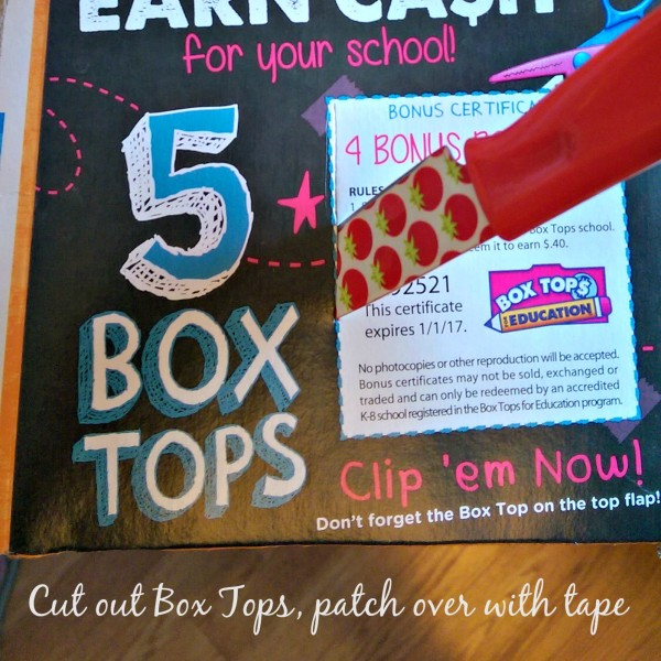 Cut out Box Tops