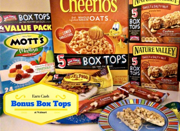 Earn Cash with Bonus Box Tops at Walmart #BTFE #TapInfluence