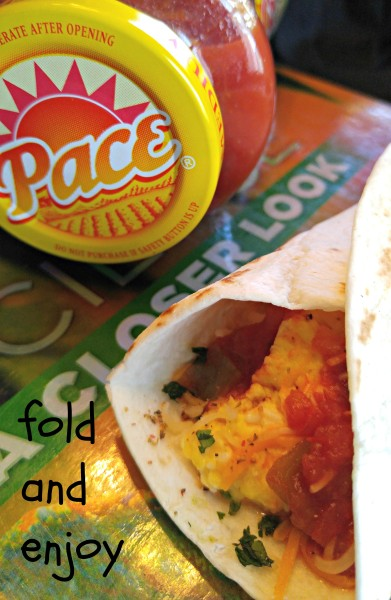 Fold Huevos Rancheros To Go #StockUpOnPace #Jewel #cbias