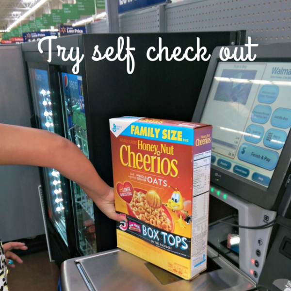 Try self check out