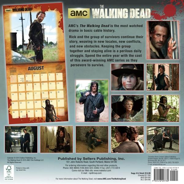 Walking Dead Calendar 2