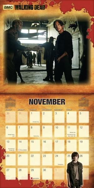 Walking Dead Calendar 3