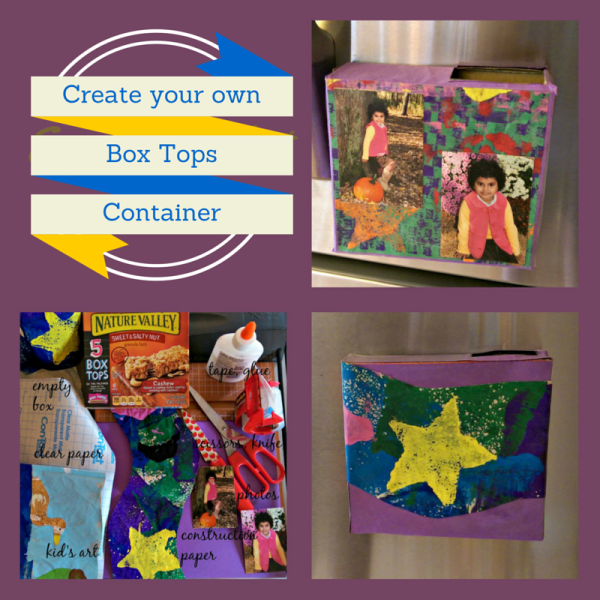 Create Your Own Box Tops Container