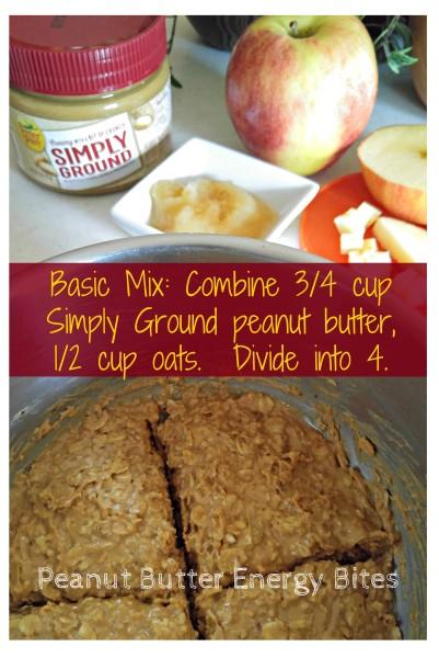 Basic Mix Peanut Butter Energy Bars