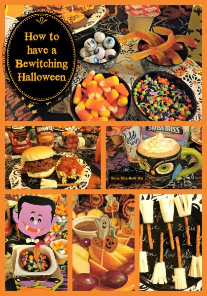 #MixInMonsterMash Bewitching Halloween Party w Text