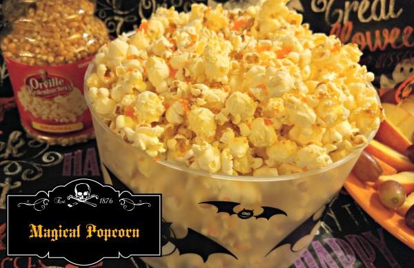 #MixInMonsterMash Magical Popcorn