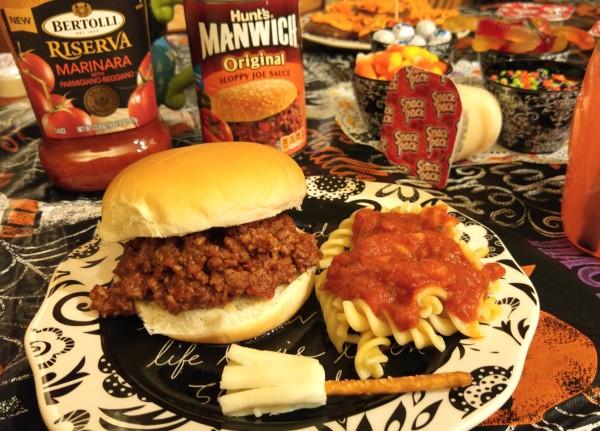 #MixinMonsterMash Manwich and Bertolli