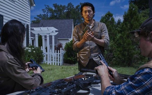 Steve Yeun as Glenn - The Walking Dead _ Season 6, Gallery - Photo Credit: Frank Ockenfels 3/AMC