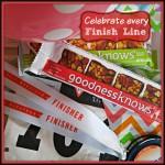 #TryALittleGoodness Celebrate Every Finish Line