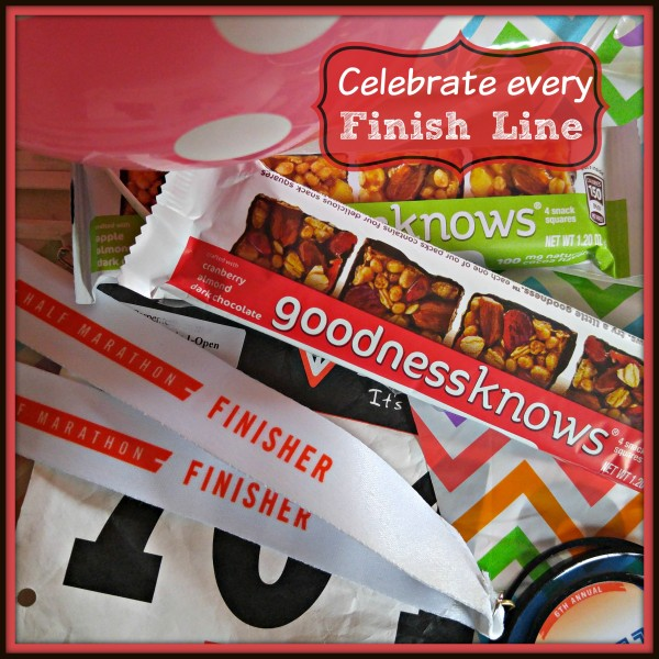 #TryALittleGoodness Celebrate Every Finish Line
