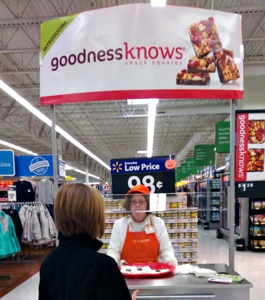 #TryALittleGoodness InStore Demo goodnessknows,png