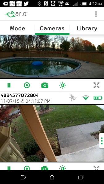 Arlo by Netgear Screenshot