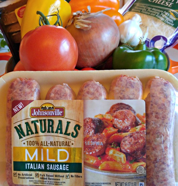 Holiday Italian Sausage Casserole Johnsonville Naturals Ingredients