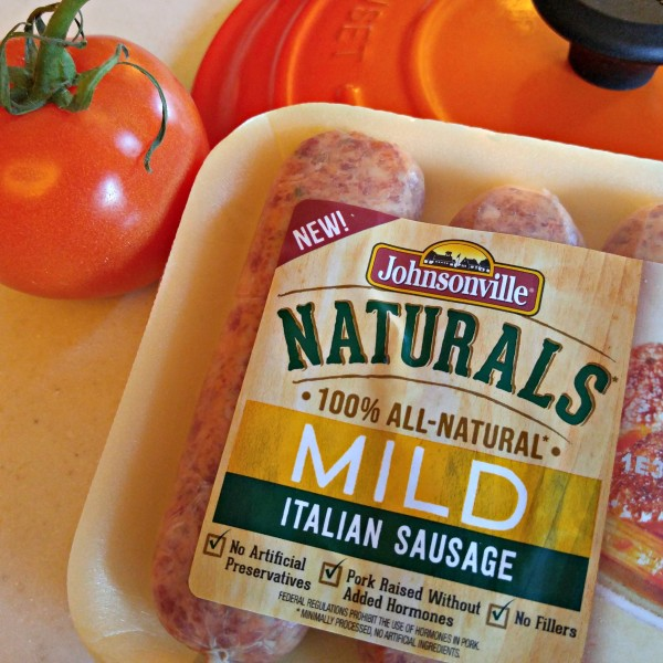 Holiday Italian Sausage Casserole Johnsonville Naturals Package