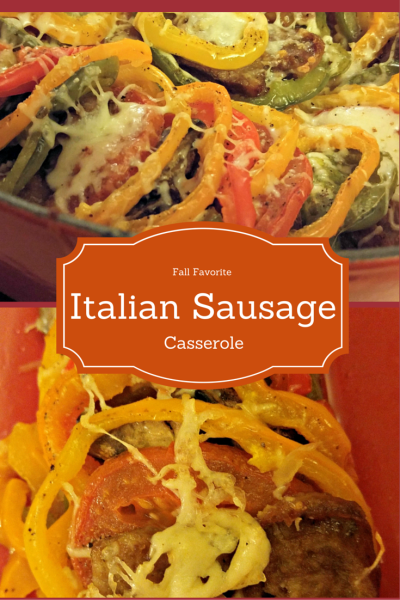 Johnsonville Naturals Holiday Italian Sausage Casserole