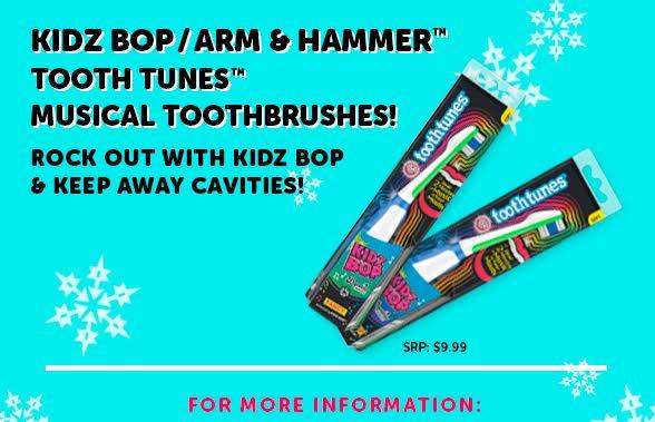kidz bop toothbrushes