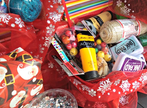 #ChevyShopsForGood Chevrolet Equinox Art Supplies