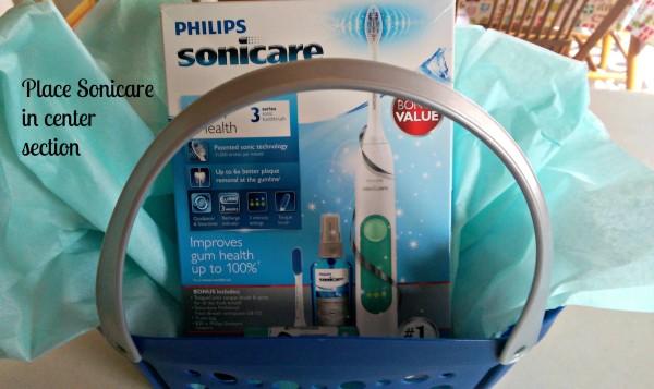 #GiftofPhilips Easy Gift Basket Sonicare