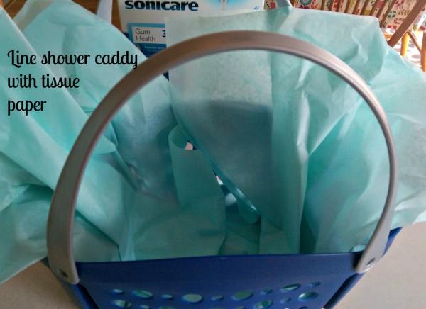#GiftofPhilips Easy Gift Basket Tissue Paper