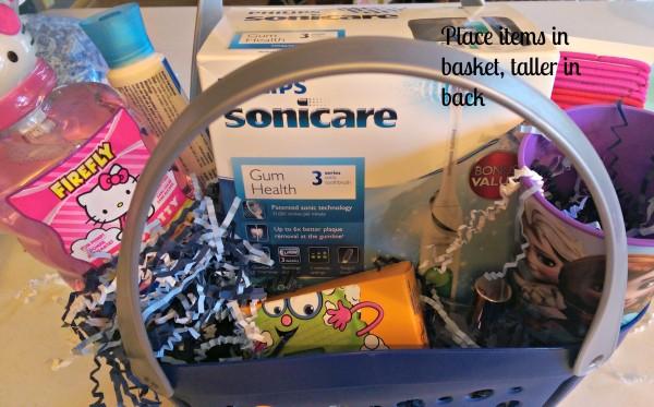 #GiftofPhilips Sonicare Gift Basket Taller